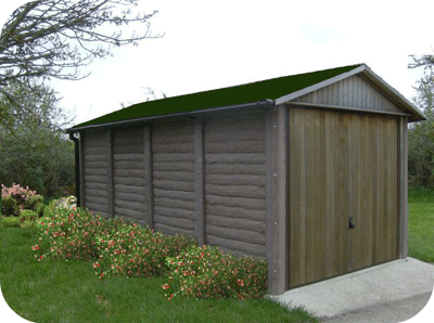 Leofric Burford Concrete Garage