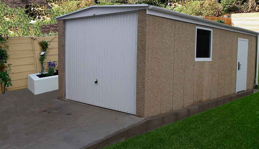 Concrete garages concrete sheds concrete buildings and Prefab workshops garages