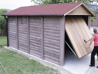 Concrete garages, concrete sheds and concrete workshops, UK
