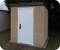 Leofric Vertical Panel Shed